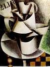 Liubov Popova. La jarra en la mesa, 1915.