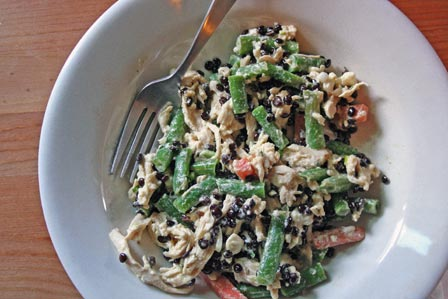 Chicken Lentil and Green Bean Salad