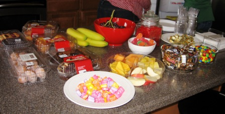 And of course, no Paper Crafts meeting would be complete without a wide variety of candy!