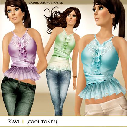 Zaara  Kavi tops (cool)