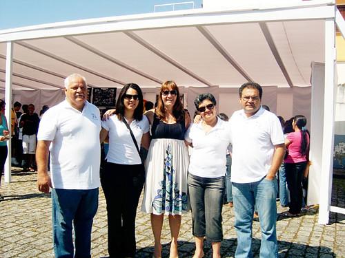 Diretores da Casa Arte Cidadania na I Mostra Shell de Projetos Sociais