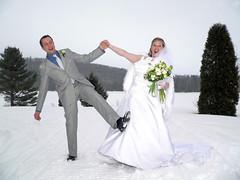 Laurent Maisonnave et Isabelle Houle se marient