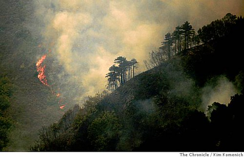 Big Sur fires..