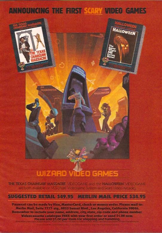 Atari Halloween/Texas Chainsaw Massacre
