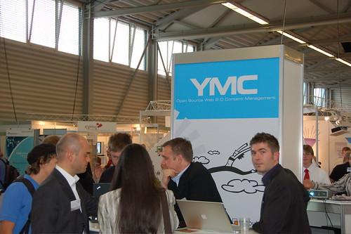 YMC OpenExpo booth