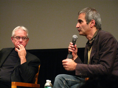 Greil Marcus and Olivier Assayas