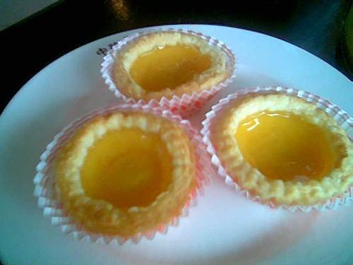 Sibu's Mitsu custard tarts