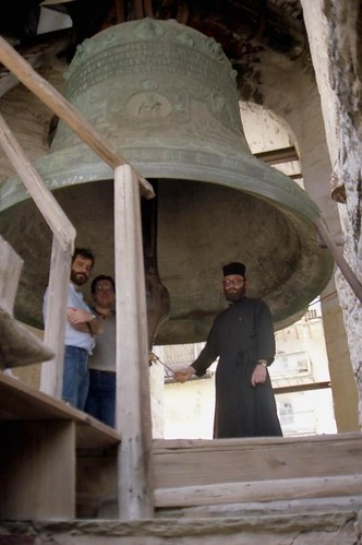 Big bell at Panteleimonos Monastery