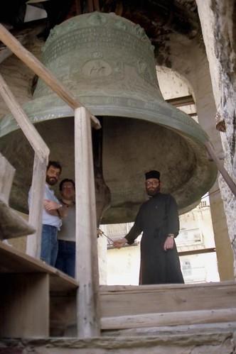 Big bell at Panteleimonos Monastery