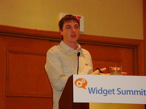 Joseph Smarr at Widget Summit