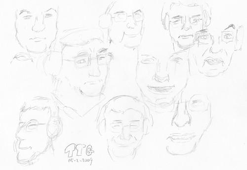 Drawing Leo Laporte - TTG 2009-02-15-a