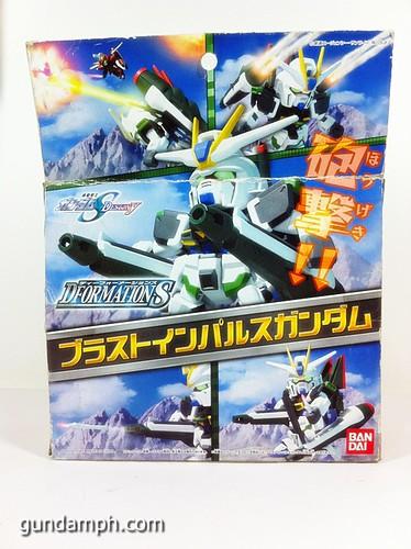 Gundam DformationS Blast Impulse Figure Review (2)