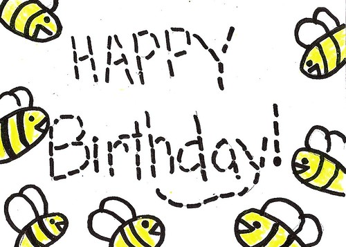 Birthday Bee 4