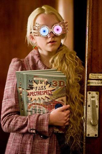 Harry Potter y el misterio del príncipe, Luna Lovegood lentes 3D