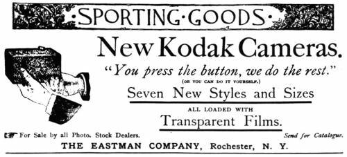 Anuncio de la Kodak 100 Vista