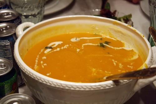 Thanksgiving Butternut Squash Soup