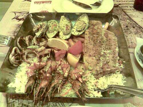 Manhattan Fish Market - Grilled Platter for 2