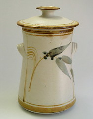 Malcom Cooke. Lidded jar