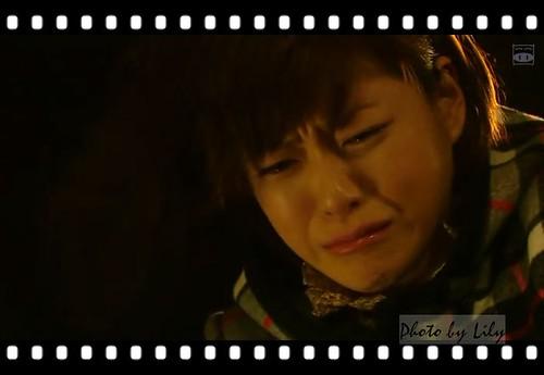 為無法突破低潮而哭泣的野田妹。