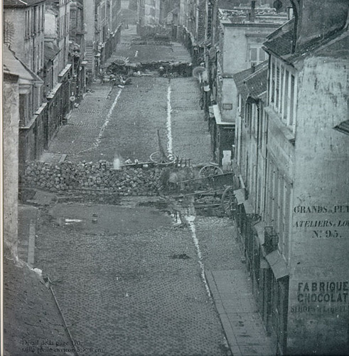 Parisian Barricades, 1848