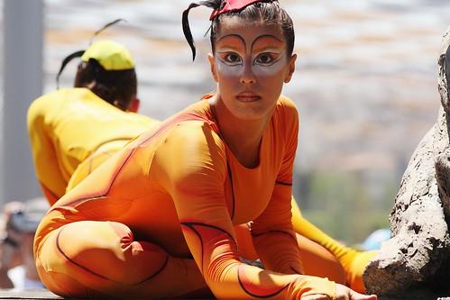 Cabalgata Cirque du Soleil