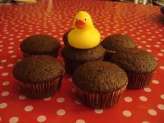 chocolat cupcakes