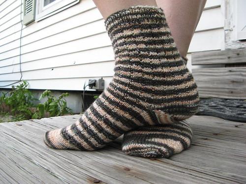 Punk Rock Commuter Socks