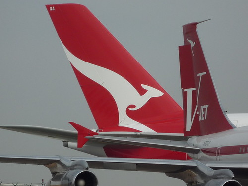 A380 and 707 at LAX