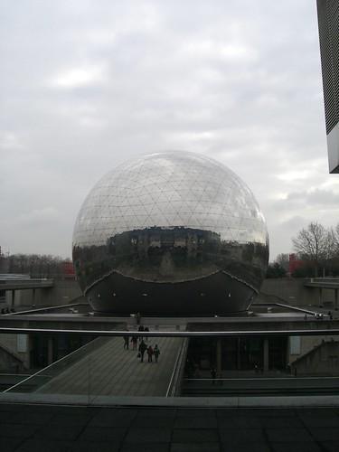 La Geode at Cite des Sciences