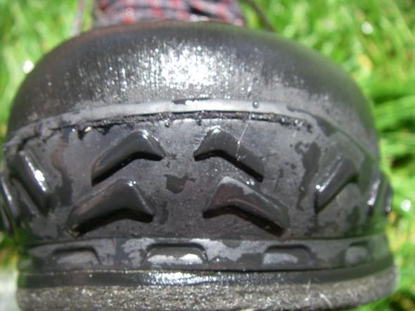 Simms Wading Boot Toe
