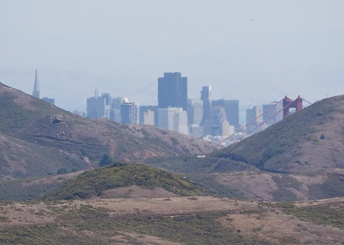 Hazy downtown SF by you.