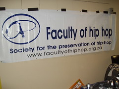 Faculty of Hip Hop Banner