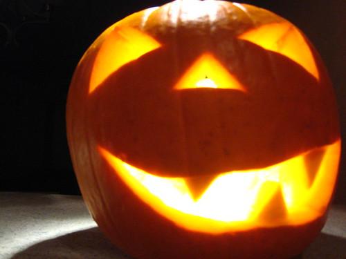 pumpkin laugh