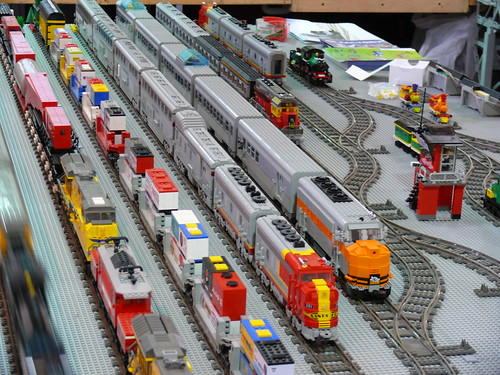 LEGO news Mark Benz' stolen trains