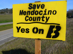 Save Mendocino County - Vote YES on Measure B