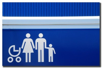 A Blue Sunday Family Portrait