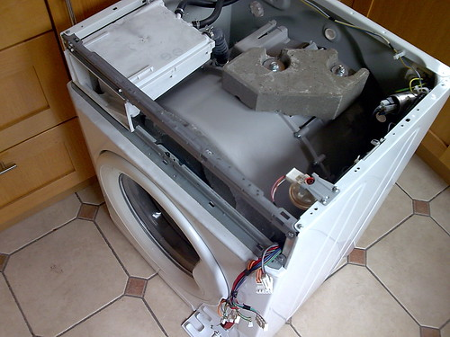 Naked Washing Machine