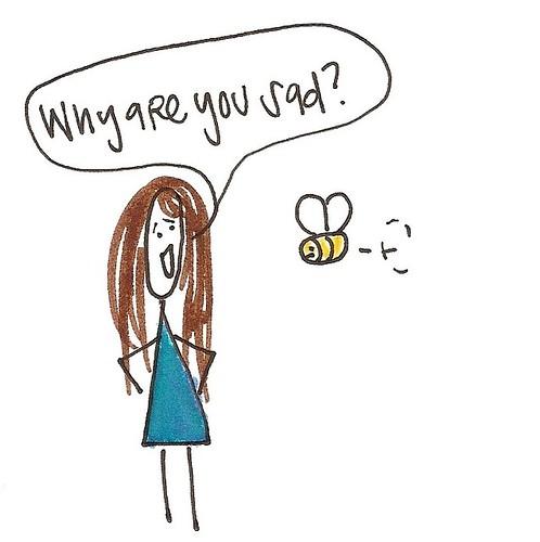 Sad Bee 1