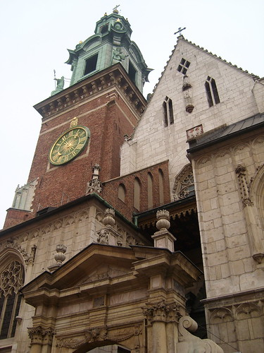 Wawel Cathedral - lovely on the outside, disappointing within