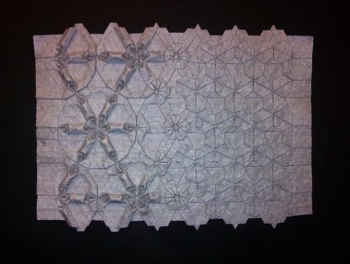 Flower Trapez (Metamorphose) finished 3D