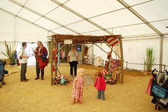 Christian Aid Tent