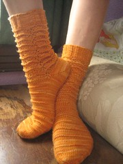 inverted marigold socks