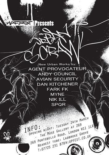 Upfest Presents-Urban Scrawl