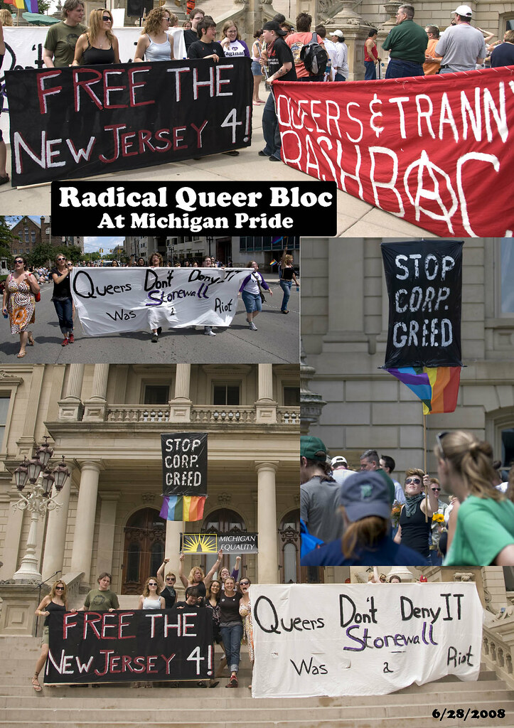 Radical Queer March, Lansing, Michigan