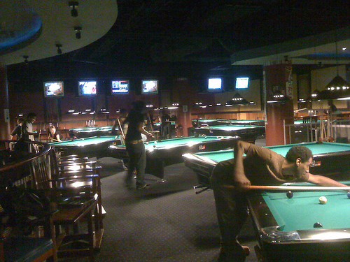 Galaxy Billiards Cafe in Silver Spring, Maryland - Taken With An iPhone