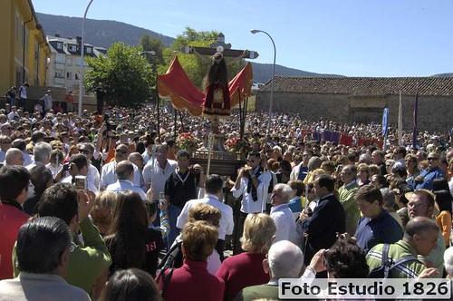 El Cristo del Caloco en El Portalón: Fotografía Pedro L. Merino