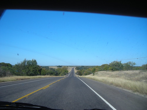 view of the road by you.