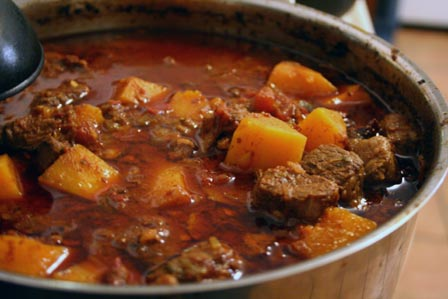 Beef Brisket and Butternut Squash Chili