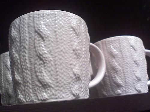cabled mug