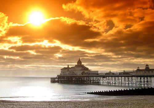 Big Sun and Eastbourne Pier